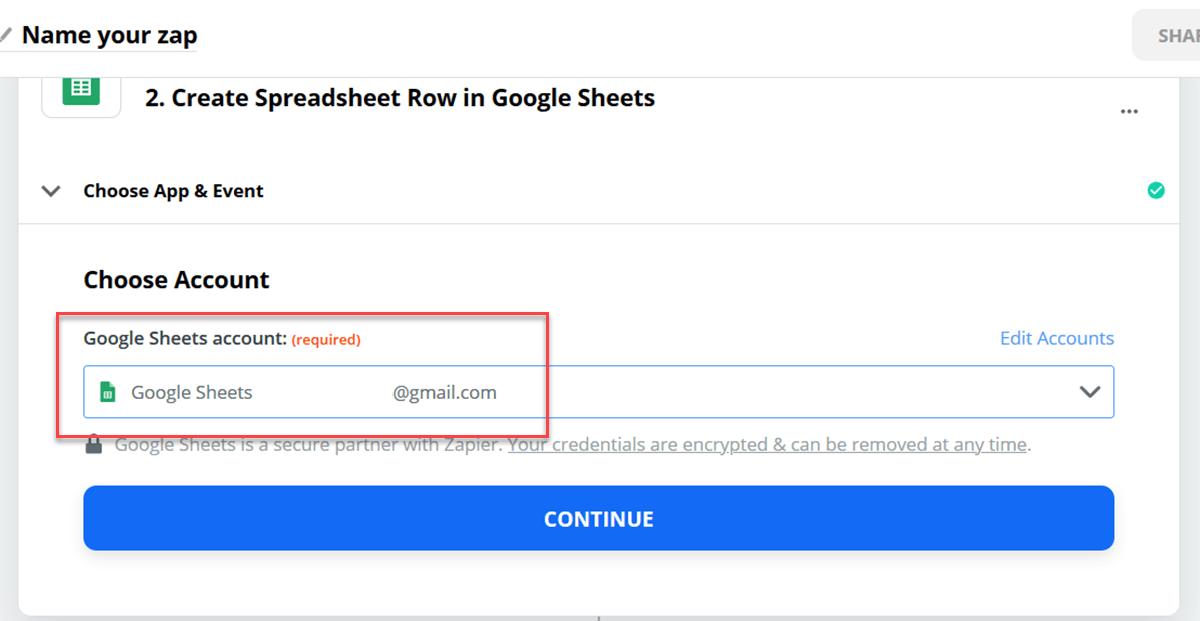 اتصال گوگل شیت به فرم تماس المنتور